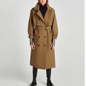 *NWT* Zara Trench Coat
